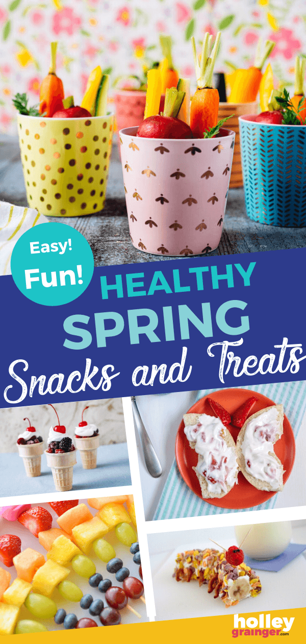 Healthy Spring Snacks for Kids