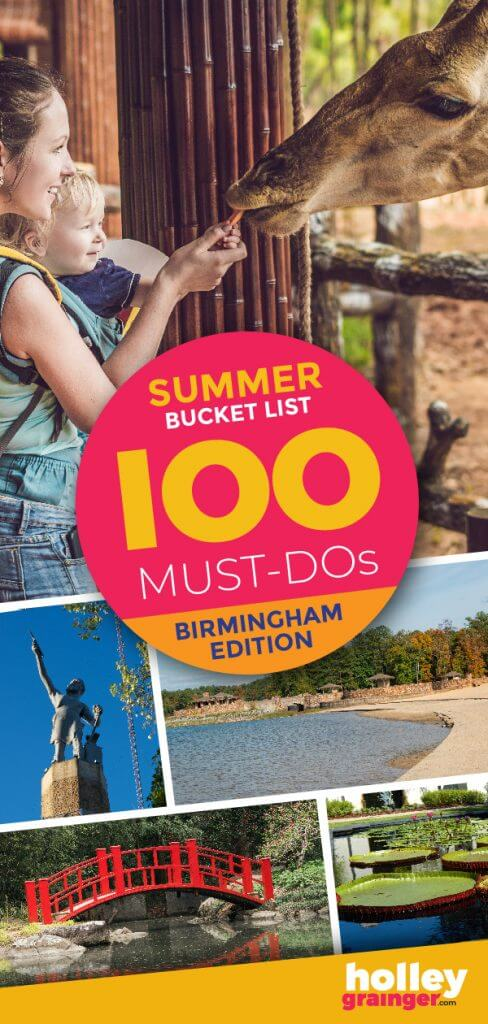 Summer Bucket List -- 100 Must Dos Birmingham Edition #summer #birmingham #alabama #whattodo #summerfun #summeractivities #bham
