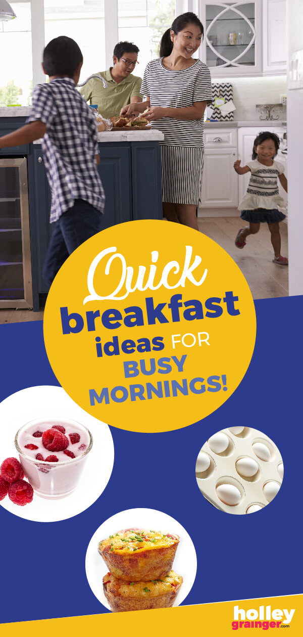 Some mornings are about survival. Embrace your real life morning moments with these clever and quick breakfast solutions for when you're in a rush.  #MyMorningMoment #belVita #ad