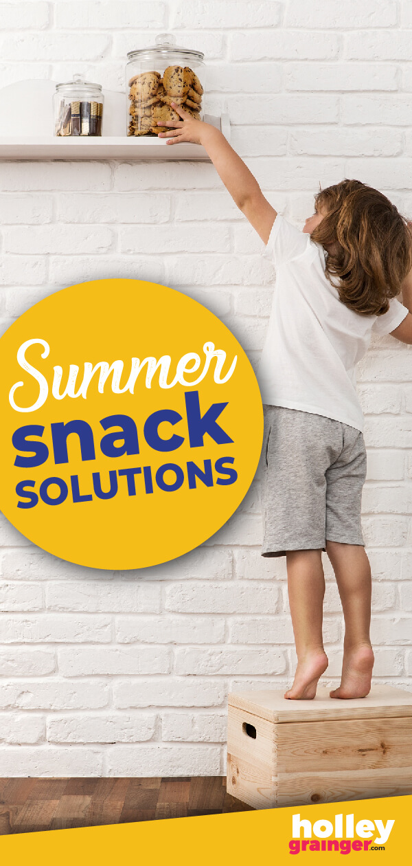 School's out and snacking is…constant. Are your kids eating all day long? These summer snack solutions will help you deal with the summertime snacking struggle.