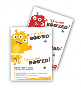 You've been Booed and You've Been Boozed Halloween Printables from Holley Grainger