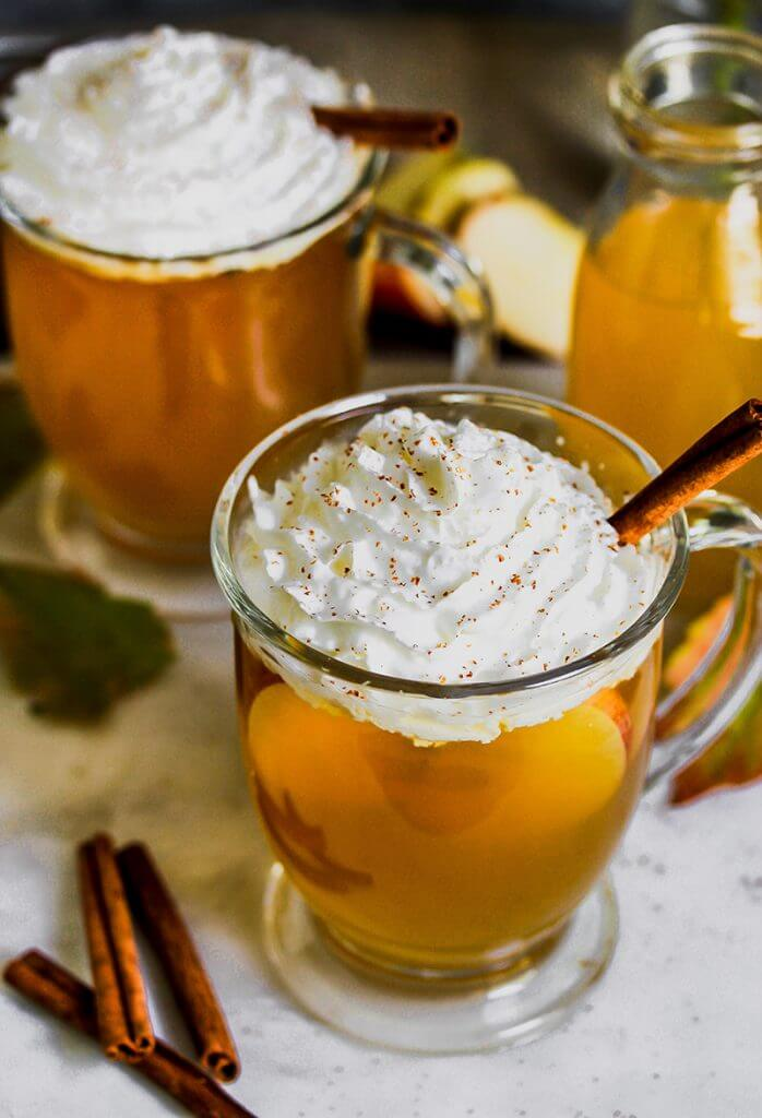 Hot Apple Pie Punch, from Holley Grainger
