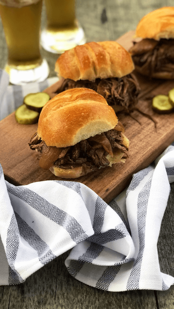 Slow Cooker BBQ Chuck Tender Roast from Holley Grainger