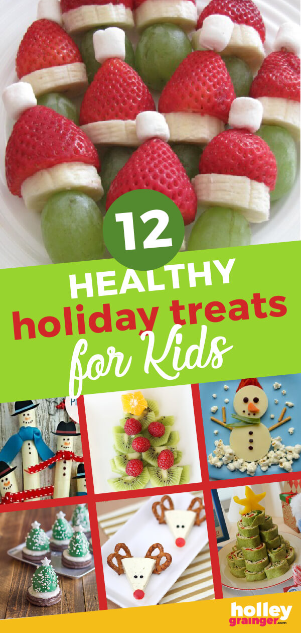 Prepare to wow with these 12 cute, clever and healthy holiday treats for kids.