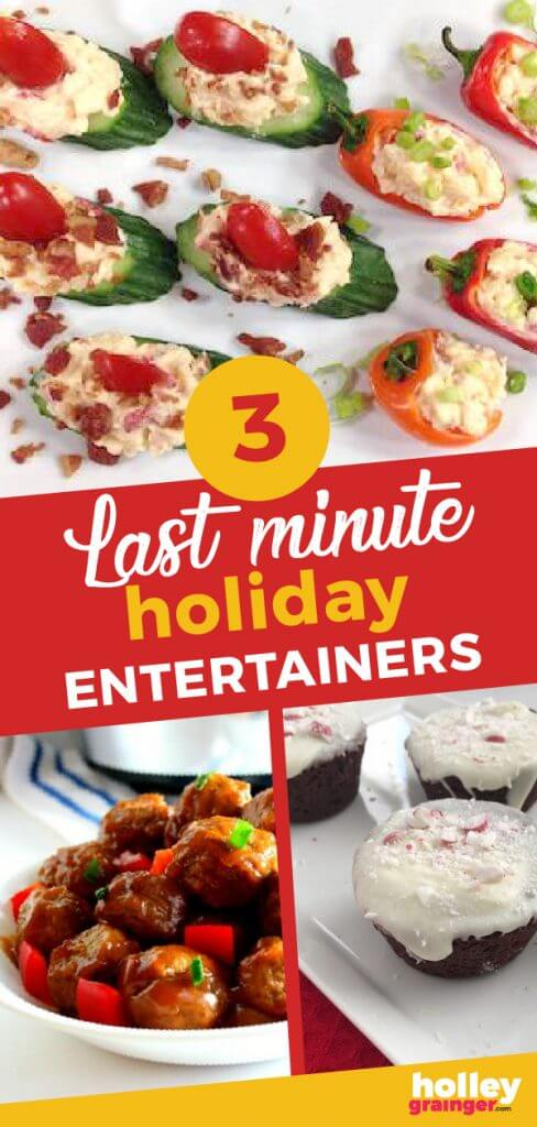 3 Last Minute Holiday Entertainers from Holley Grainger