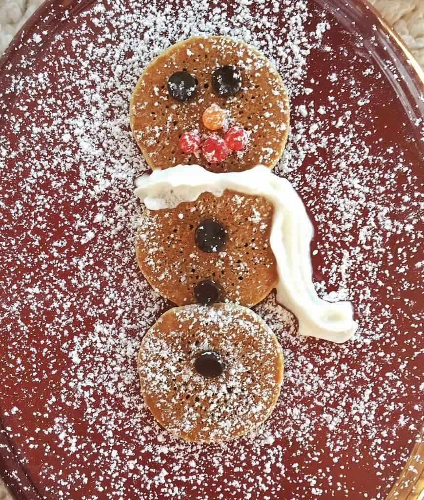 Snowman Pancake Holley Grainger