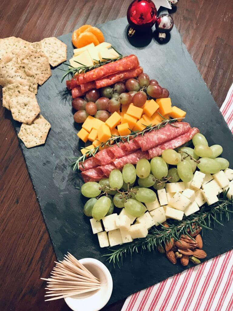 Christmas Tree Charcuterie Board