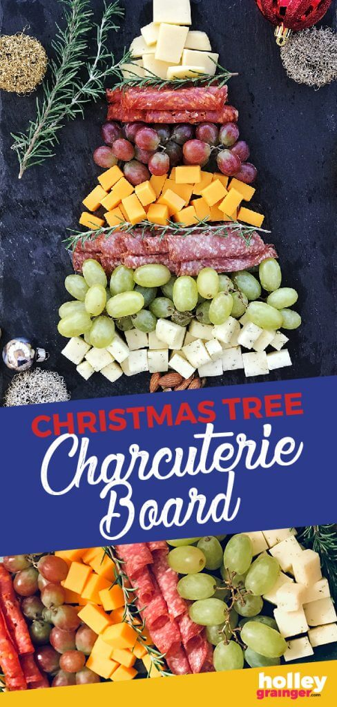 Christmas Tree Charcuterie Board from Holley Grainger