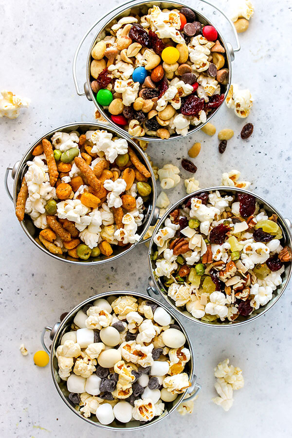 How to Set Up a Gourmet Popcorn Bar | Holley Grainger