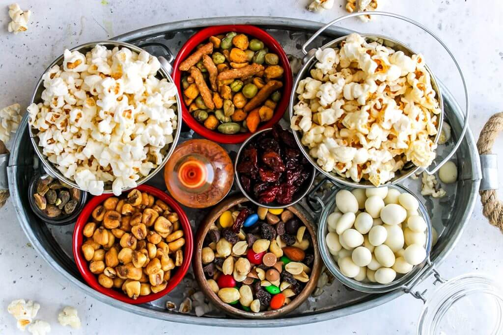 Gourmet Popcorn Bar, from Holley Grainger