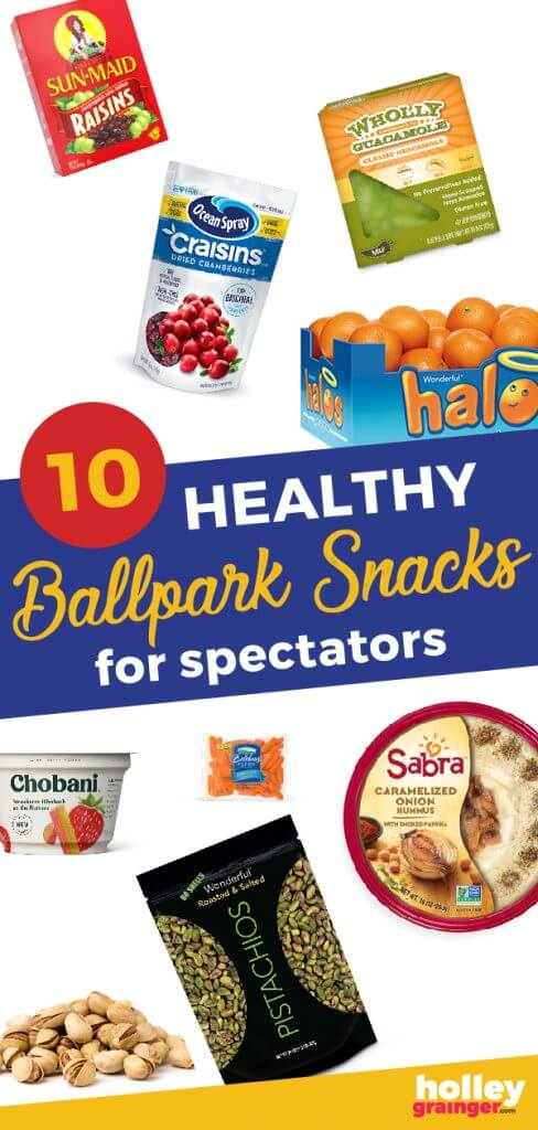 Healthy Ballpark Snacks - Skip the concession stand and pack these snacks next time you're headed to the ballpark.