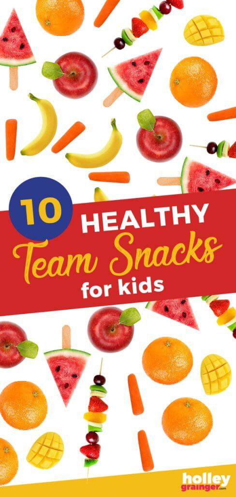 Team Snacks for Kids