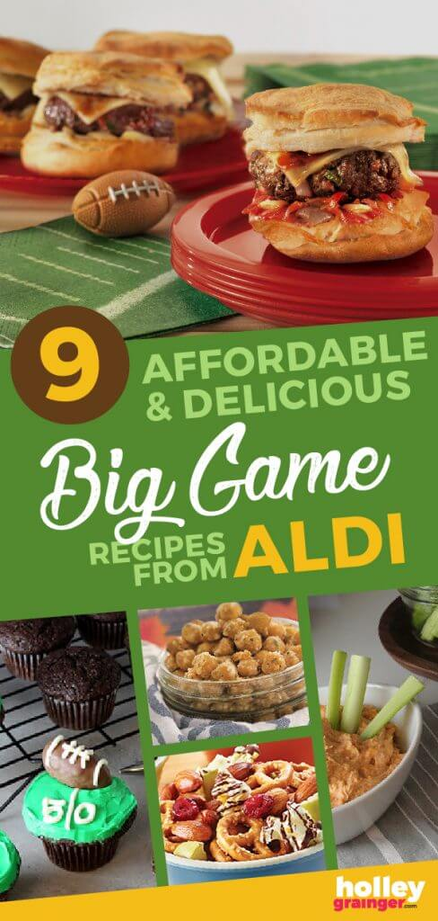 9 Affordable and Delicious Big Game Recipes from ALDI and Holley Grainger