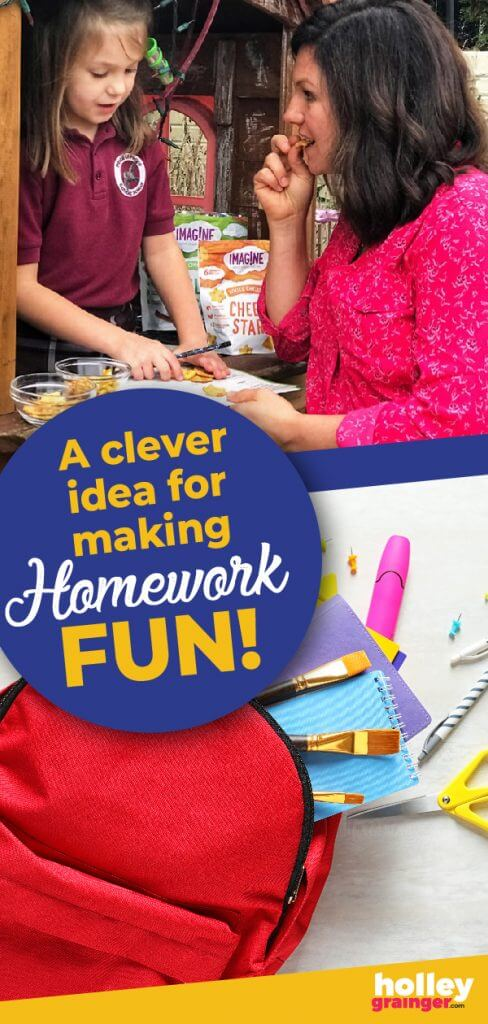 Clever Ideas to Make Homework Fun from Holley Grainger