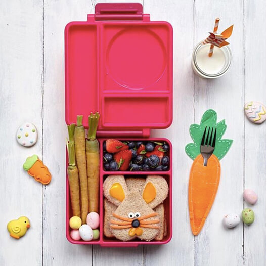 Easter Lunchbox Ideas gathered by Holley Grainger from bambinoloveau