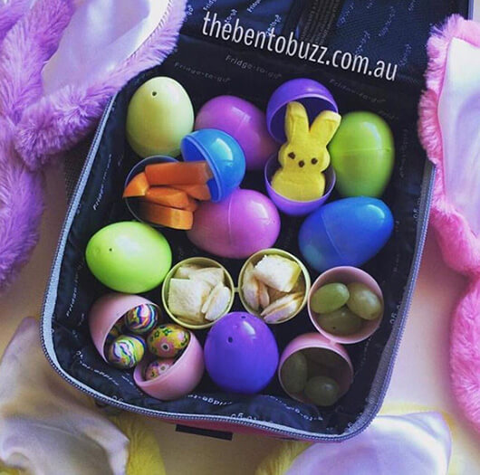 Easter Lunchbox Ideas gathered by Holley Grainger from thebentobuzz.com.au