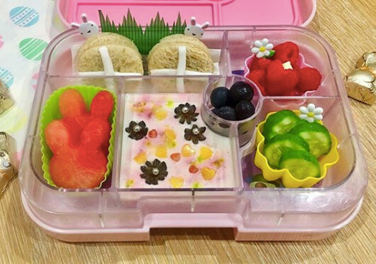 Easter Lunchbox Ideas gathered by Holley Grainger from hydebytes