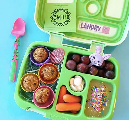 Easter Lunchbox Ideas gathered by Holley Grainger from landryslunches
