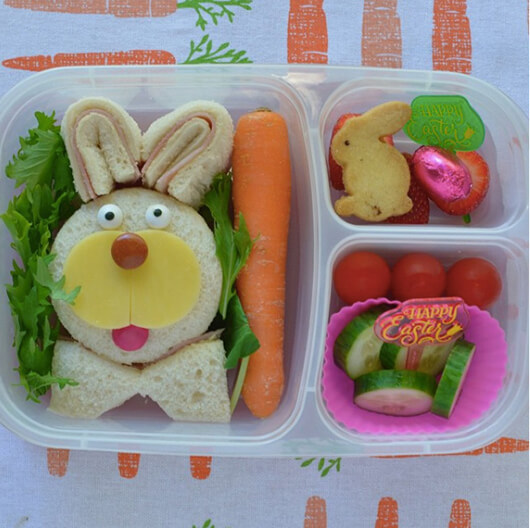 Easter Lunchbox Ideas gathered by Holley Grainger from Siobhan Fitzsimmons