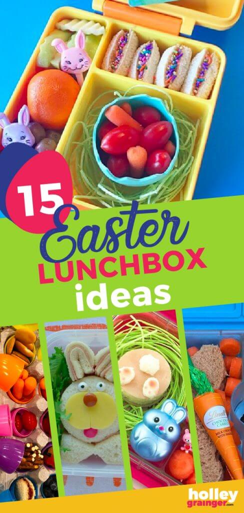 15 Easter Lunchbox Ideas, from Holley Grainger