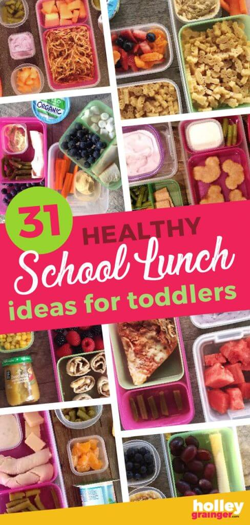 31 Healthy School Lunch Ideas for Toddlers