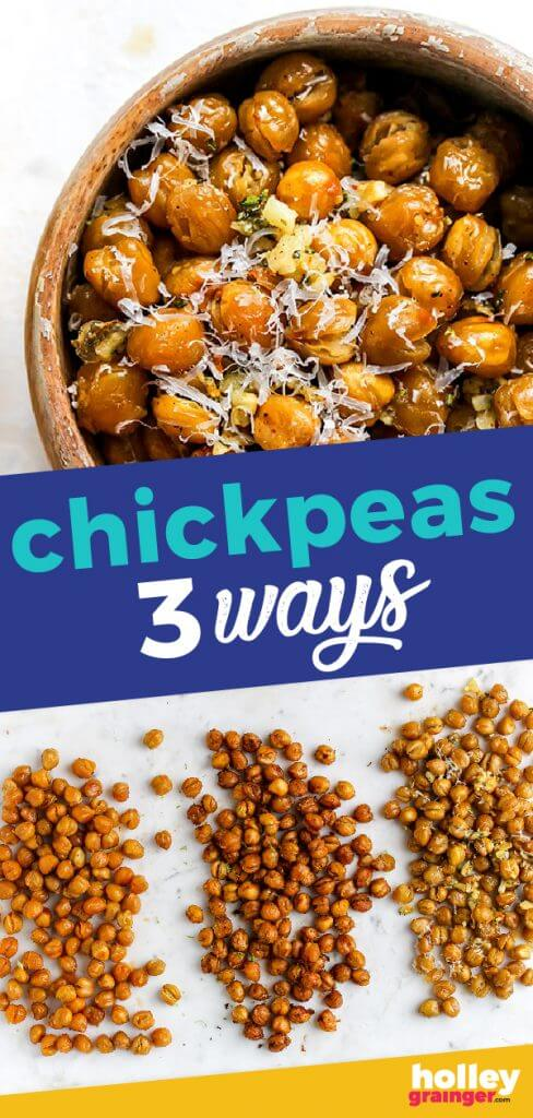 Chickpeas 3 Ways from Holley Grainger