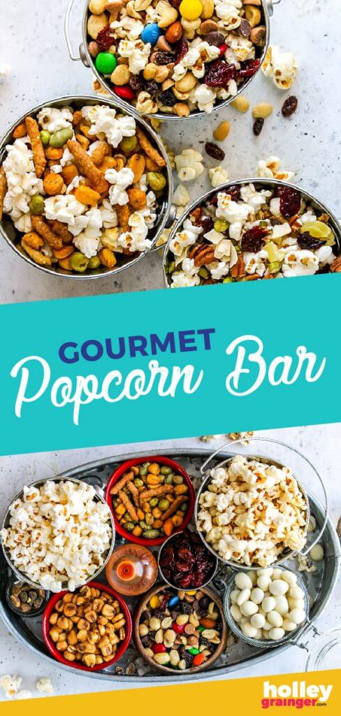 Gourmet Popcorn Bar from Holley Grainger