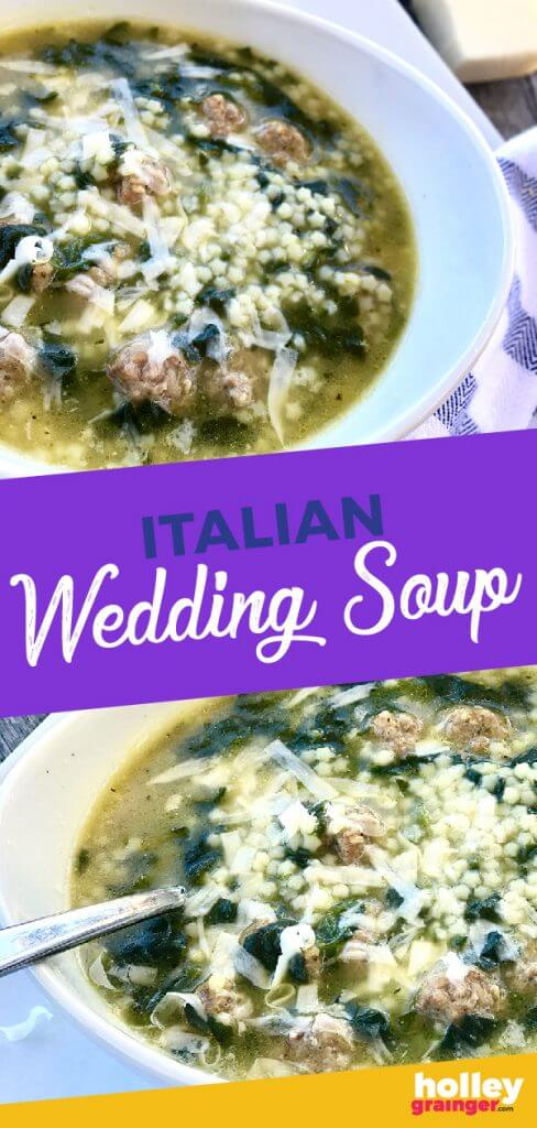 The Easiest 4-Ingredient Italian Wedding Soup Ever from Holley Grainger