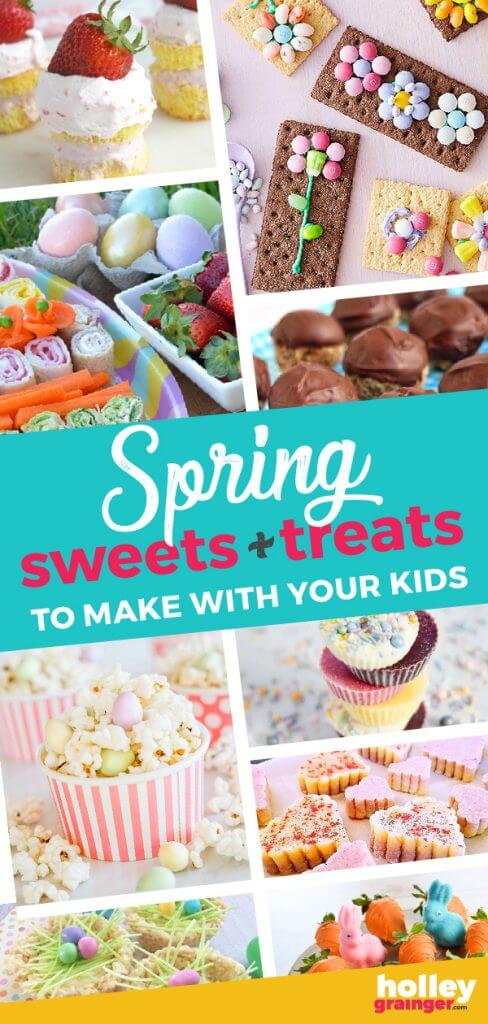 Spring Sweets & Treats to Make With Your Kids from Holley Grainger