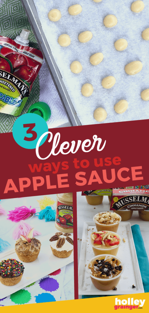 3 Clever Ways to Use Apple Sauce from Holley Grainger