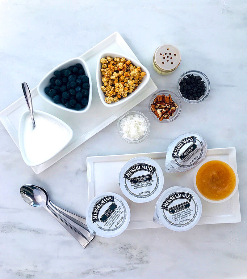Applesauce Breakfast Parfaits from Holley Grainger