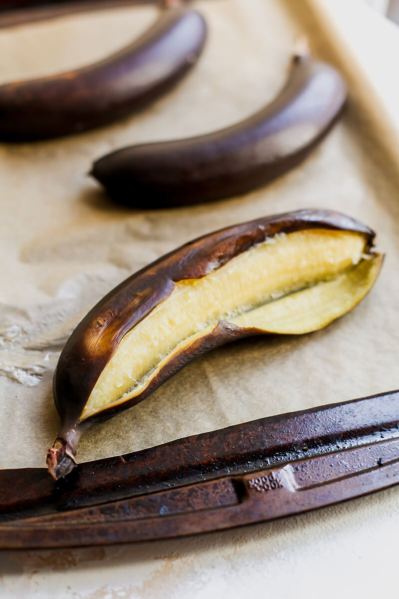 How to ripen bananas in the oven from Holley Grainger