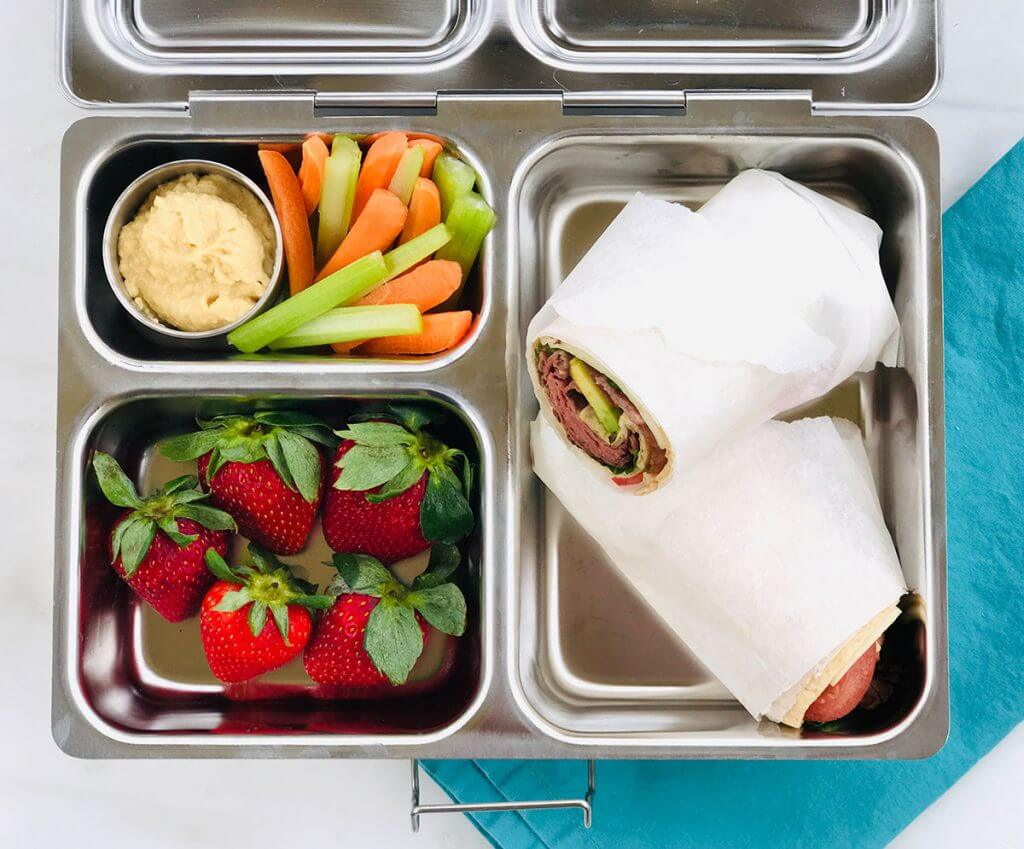 Roast Beef Club Wraps from Holley Grainger