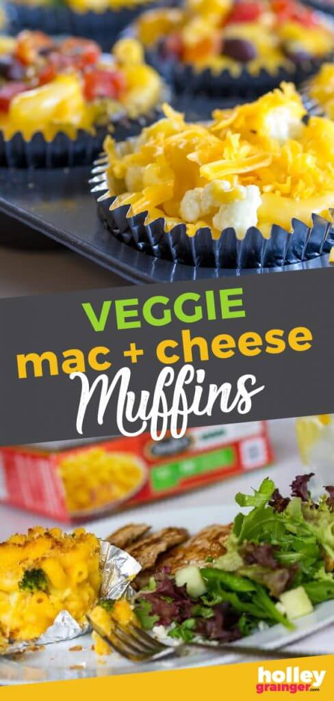 Veggie Mac and Cheese Muffins from Holley Grainger