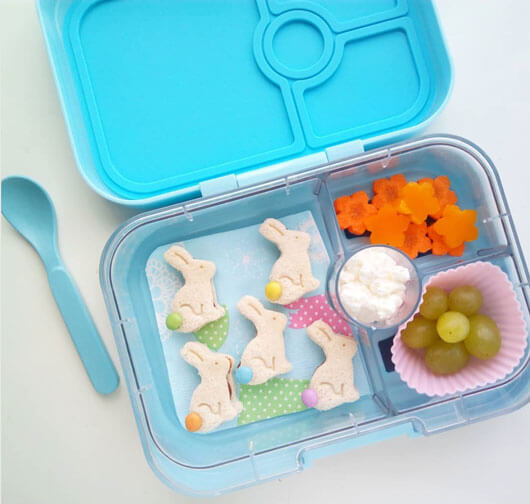 Easter Lunchbox Ideas from Holley Grainger: almuerzos_con_alma