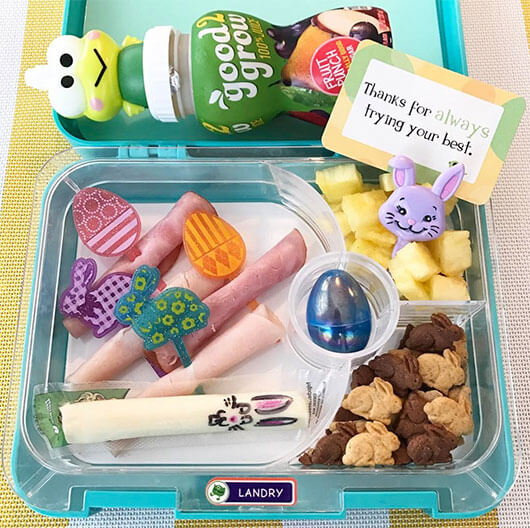 Easter Lunchbox Ideas from Holley Grainger: @landryslunches