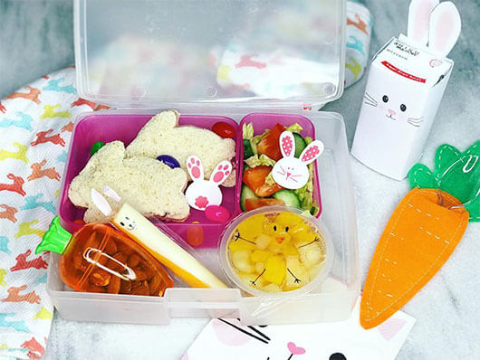 Easter Lunchbox Ideas from Holley Grainger: miriamkeoshian