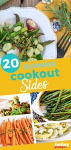 20 Summer Cookout Sides, from Holley Grainger