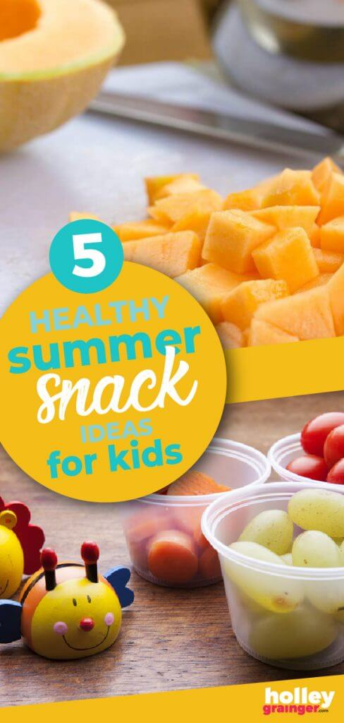5 Healthy Summer Snack Ideas for Kids from Holley Grainger