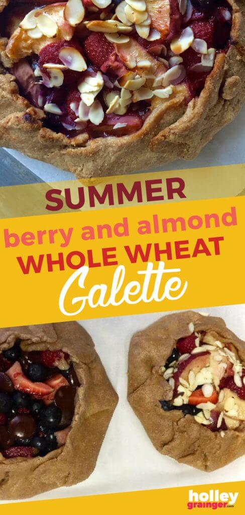 Summer Berry and Almond Whole Grain Galette from Holley Grainger