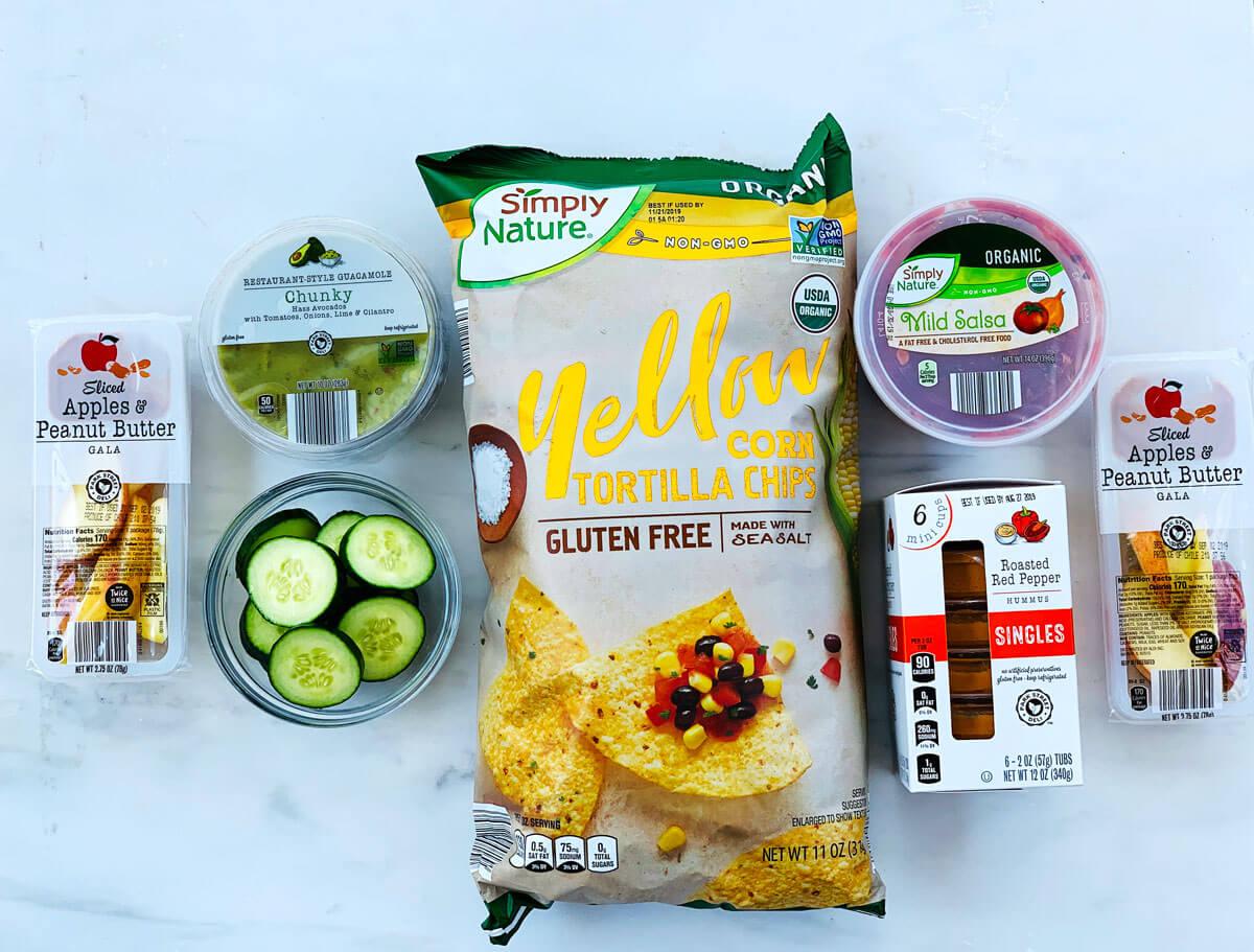 25 Healthy School Snacks from ALDI - dip it