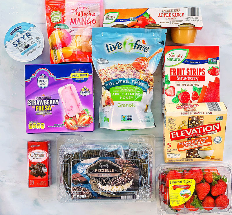 25 Healthy School Snacks from ALDI - sweet snacks