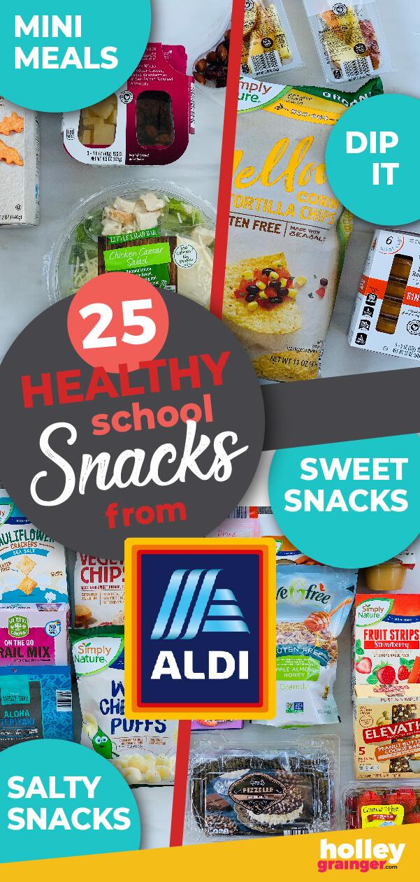 25 Healthy School Snacks from ALDI