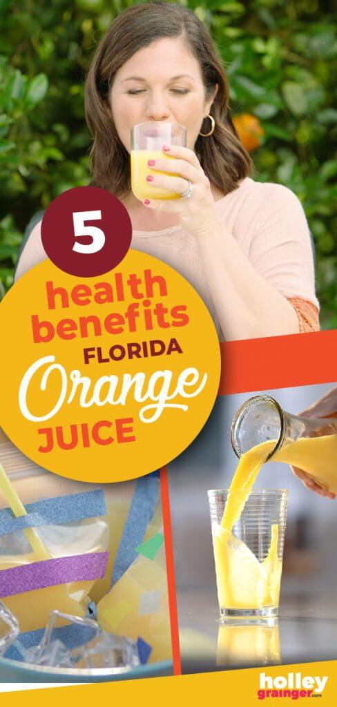 5 Health Benefits of Florida Orange Juice