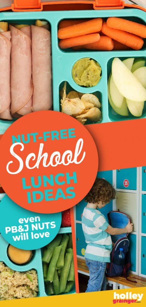 Nut-Free School Lunch Ideas from Holley Grainger
