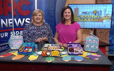 The ABCs of Lunchbox Packing (Video) with 6WBRC and Holley Grainger