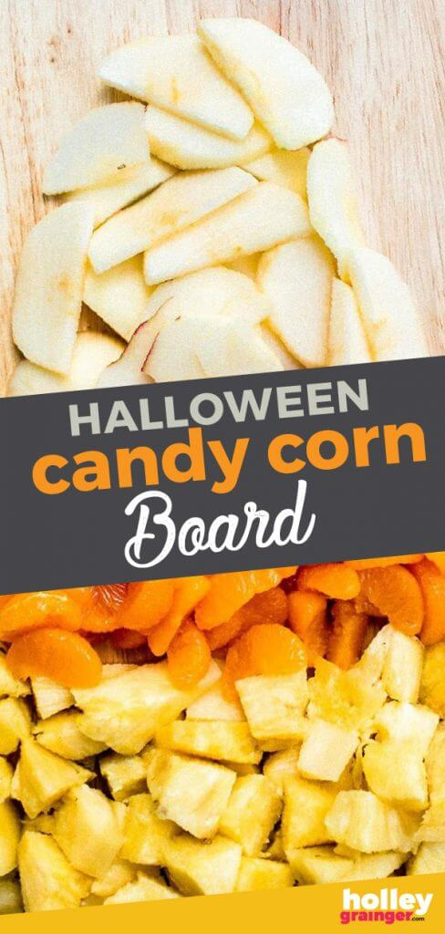 Halloween Candy Corn Board from Holley Grainger