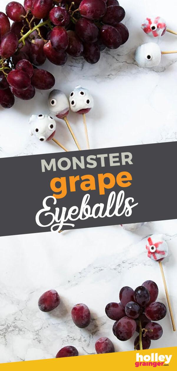 Monster Grape Eyeballs from Holley Grainger