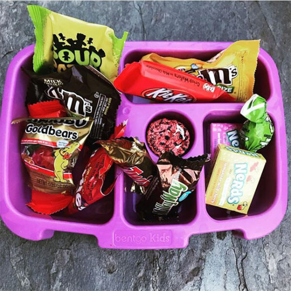 Proposed candy lunchbox from Holley Grainger's kids