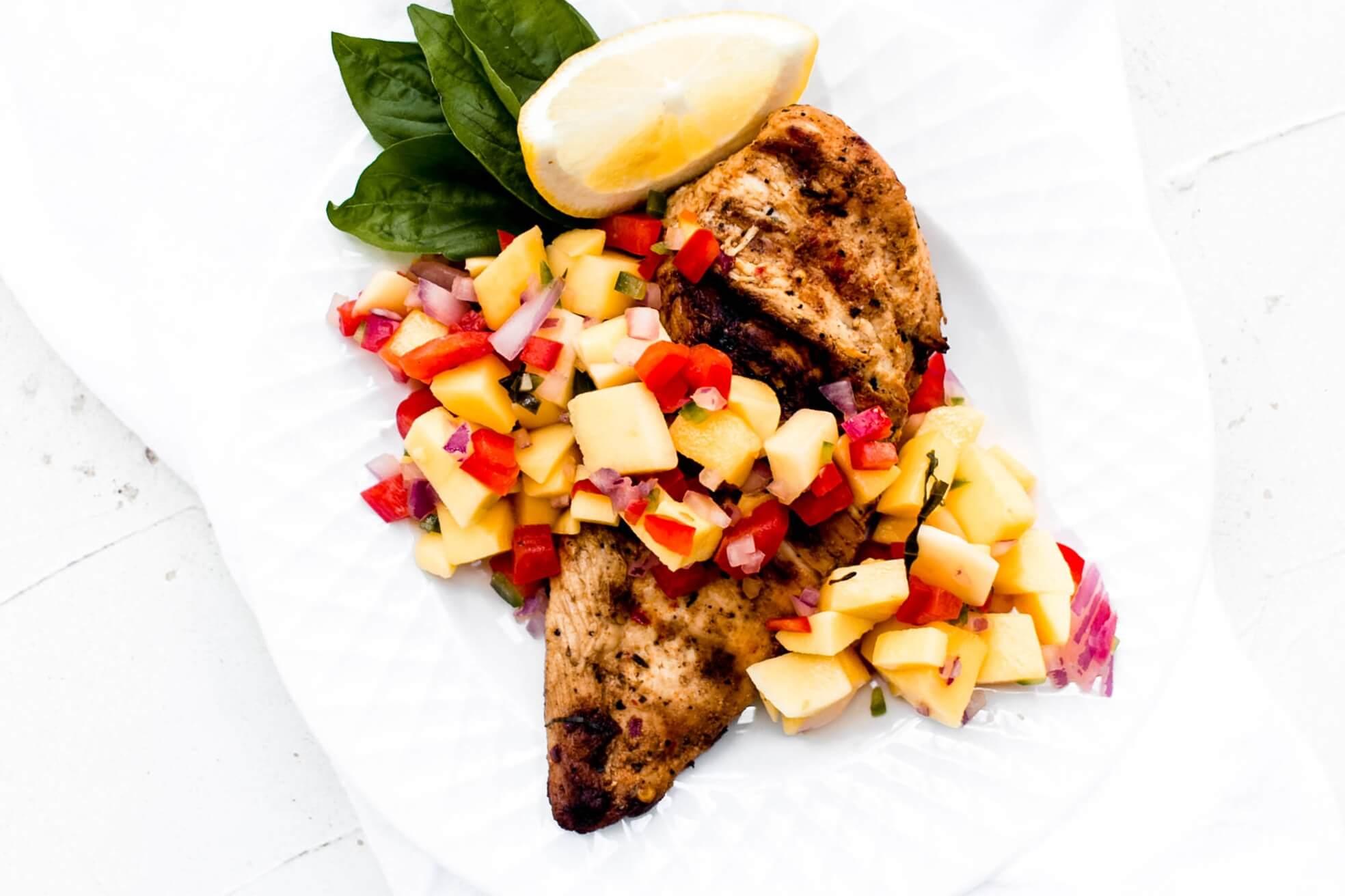 Spicy Grilled Chicken Mazola
